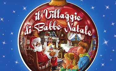 Paesaggio Di Babbo Natale.Il Villaggio Di Babbo Natale